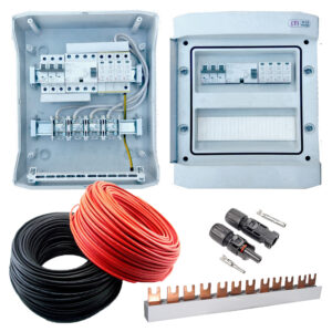 Електроавтоматика та кабелі для СЕС
