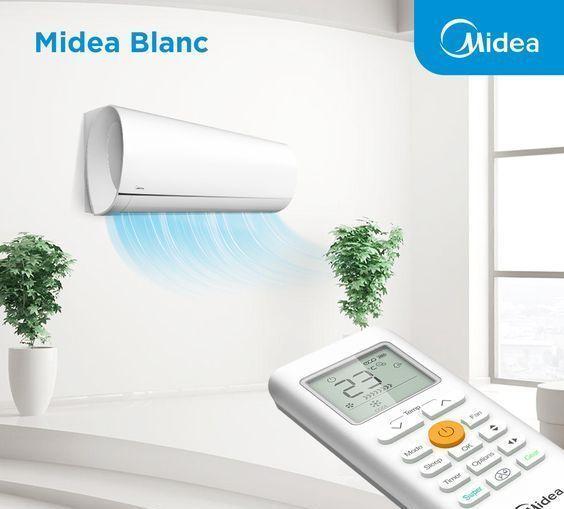 Кондиціонер Midea серія BLANC inverter, MA-09N1D0H...(2019) СОЛЕНСІ