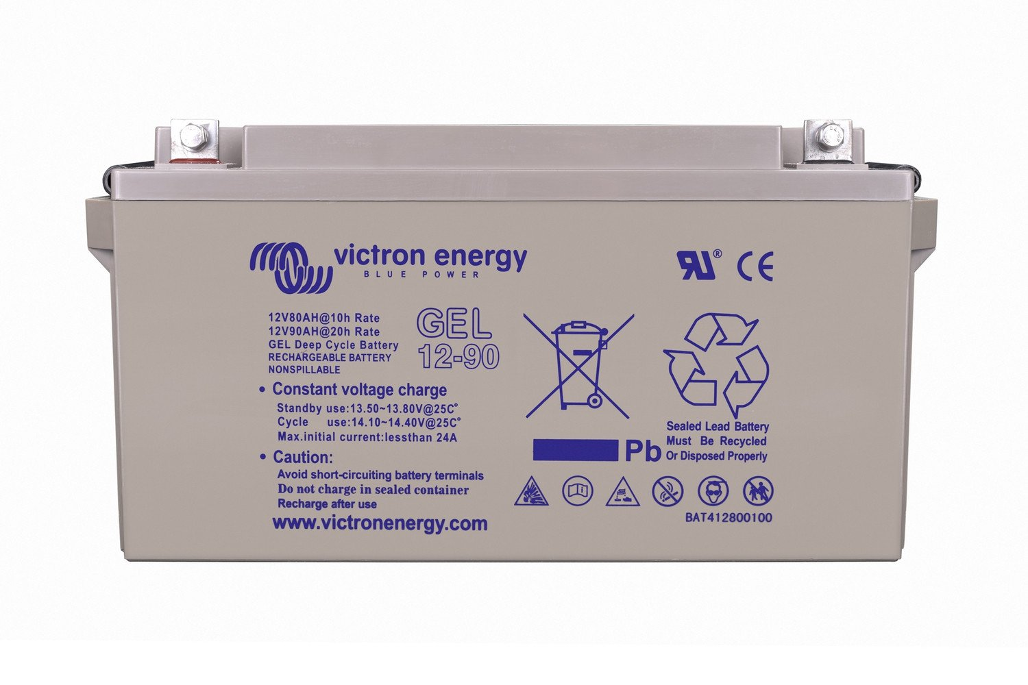 Акумулятор Victron Energy 12V/165Ah GEL Deep Cycle Batt (BAT412151104) СОЛЕНСІ