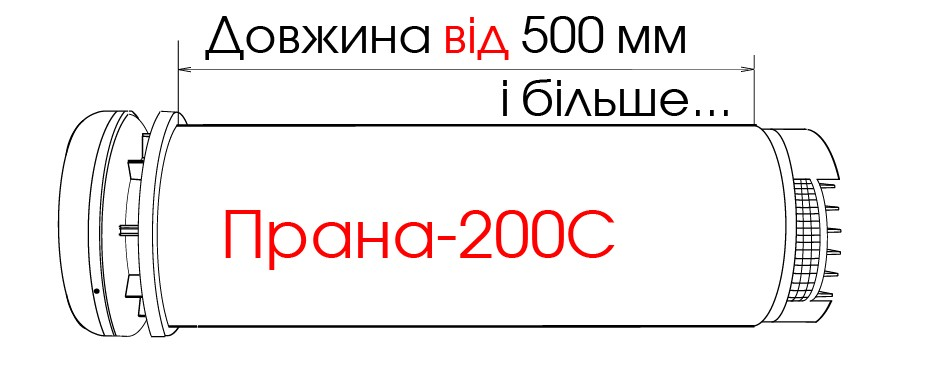 Рекуператор PRANA-200С СОЛЕНСІ